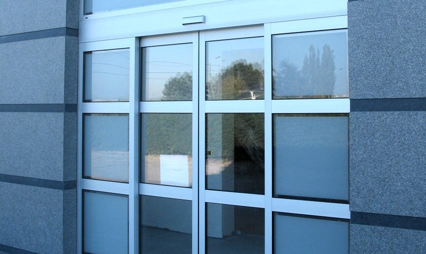 Автоматические раздвижные двери в г.Липецке