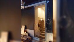Автоматическая раздвижная дверь в частном доме
